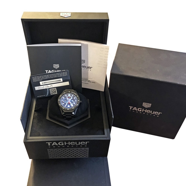 Tag Heuer Connected Black Titanium Full Set