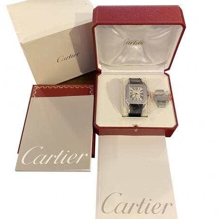 Cartier Santos 100 Anniversary 2004 NEW