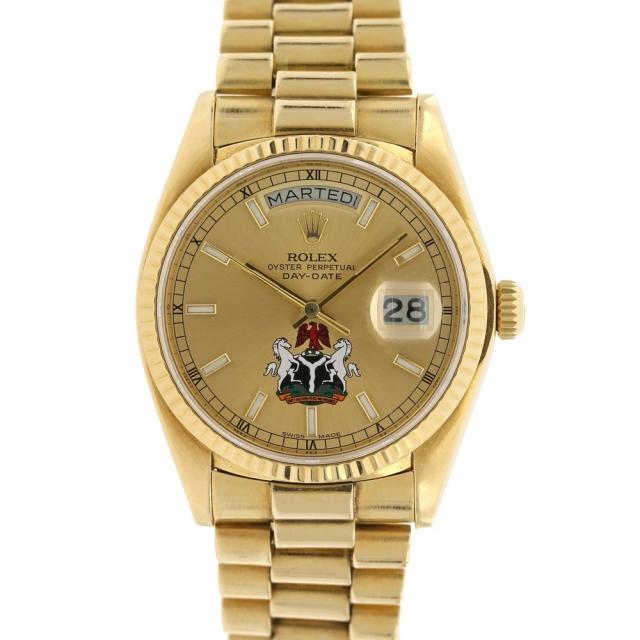 Rolex Day-Date Raro Quadrante Nigeria ref.18038
