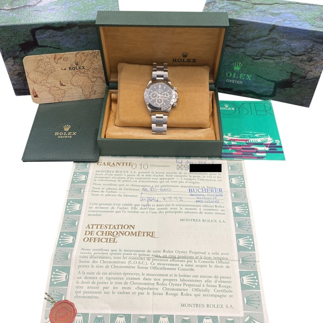 Rolex Daytona Zenith 16520 Patrizzi Mai Lucidato