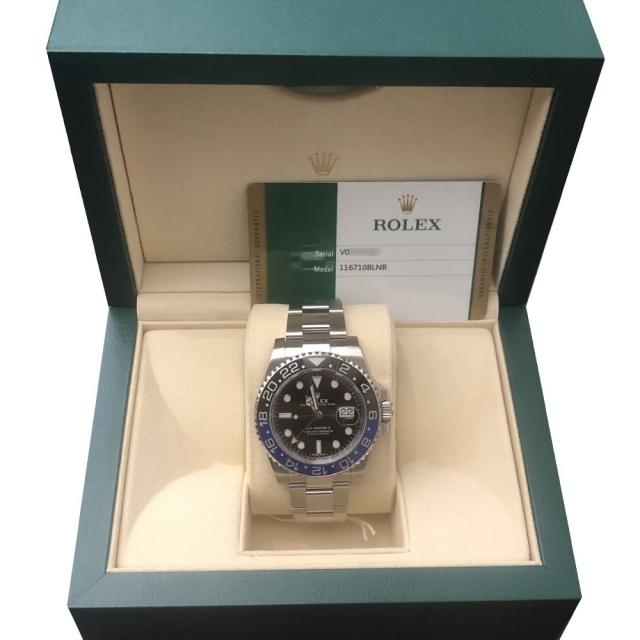 Rolex Gmt-Master II 116710BLNR Pari al Nuovo