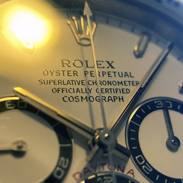 Rolex Daytona Zenith ref. 16520 Glossy 3D Dial
