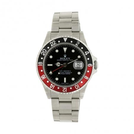 "Rolex Gmt-Master II 16710 Stick Dial 3186 ""Coke"""