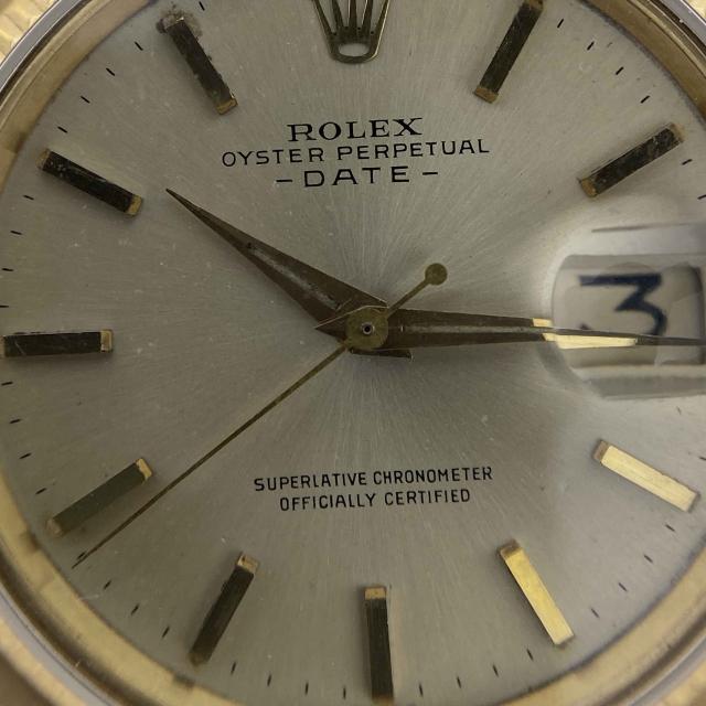 Rolex Date 1503 Braccialato Oro Giallo 18ct