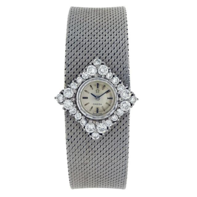 Omega Vintage Lady Diamanti