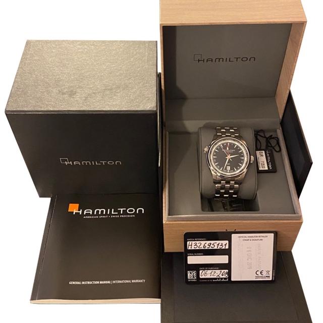 Hamilton Jazzmaster GMT H32695131 NUOVO