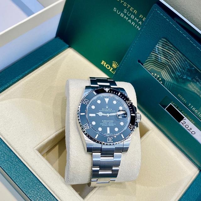 Rolex Submariner 116610LN NEW CARD 2020
