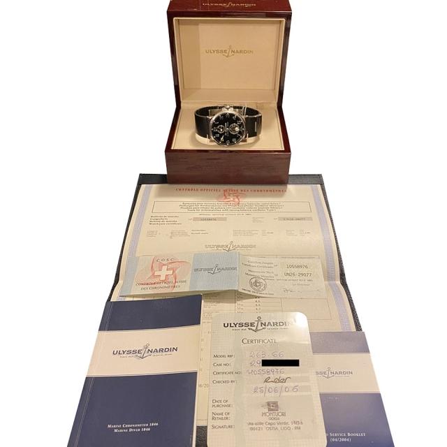 Ulysse Nardin Marine Chronometer 263 - 66