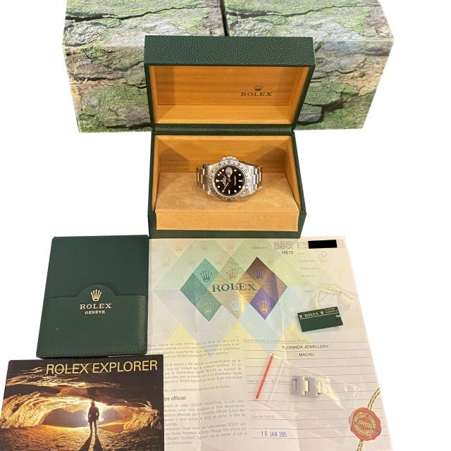 Rolex Explorer II 16570 Mai...