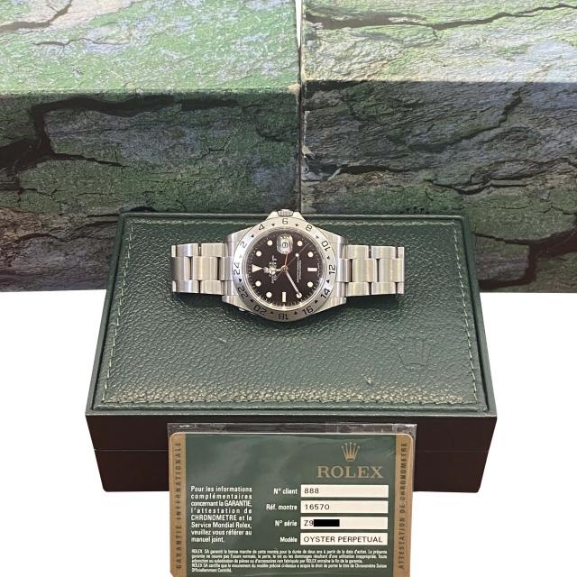 Rolex Explorer II 16570 RRR...
