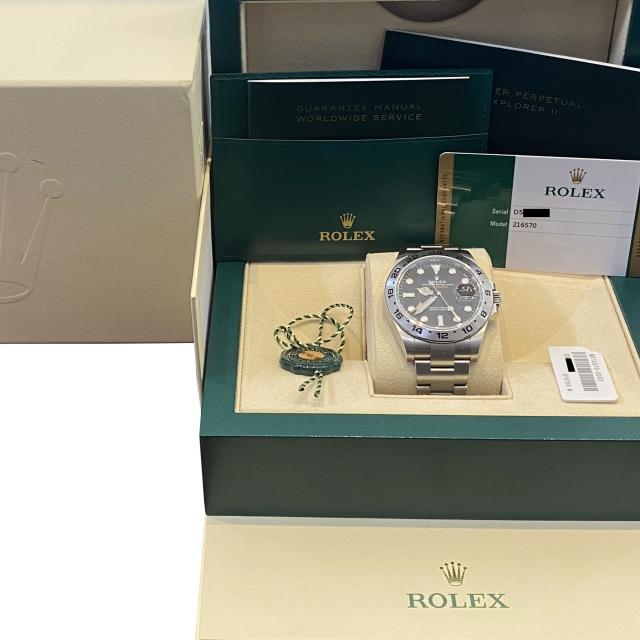 Rolex Explorer II 216570...